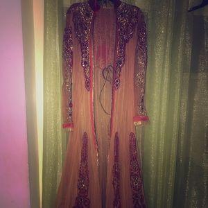 Dresses & Skirts - Gorgeous Bridal Jacket Lehenga Size 36